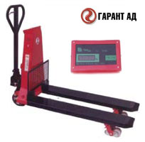Weighting handpallet truck ТK-B1.0